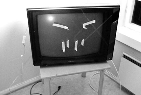 Télévision (détail) - Jan Christensen