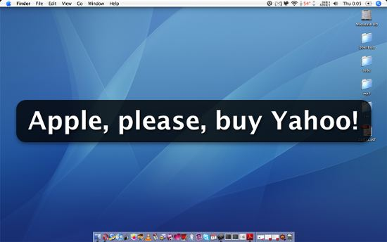 Apple yahoo